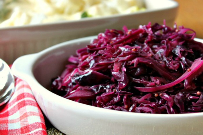 Christmas Spiced Red Cabbage