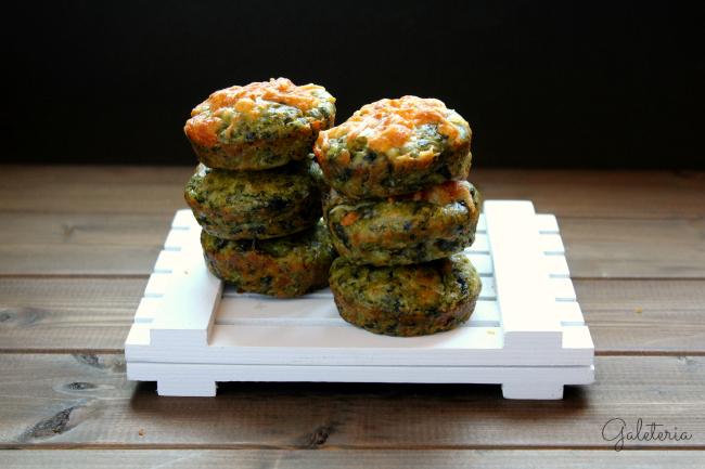 receta-muffins-espinacas-queso