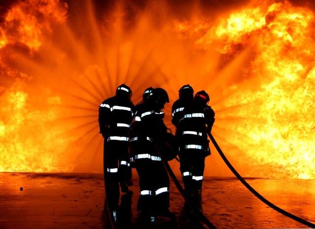 Incendio en la América Norte