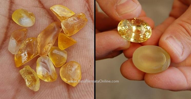 Batu Safir kuning (Yellow Safir)