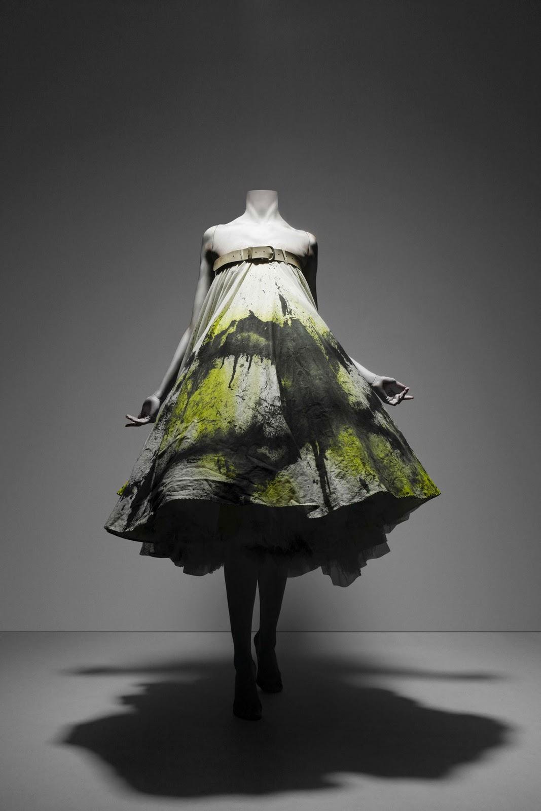 LULUSHION: Alexander McQueen Spray Paint Dress vs My Dress