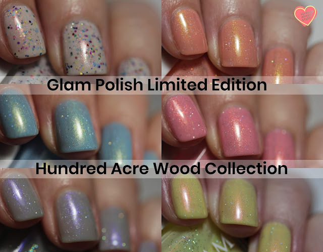 Glam Polish Limited Edition Hundred Acre Wood Collection swatch by Streets Ahead Style