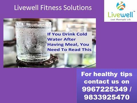 जेवणानंतर थंड पाणी पिणे आरोग्यासाठी अपायकारक