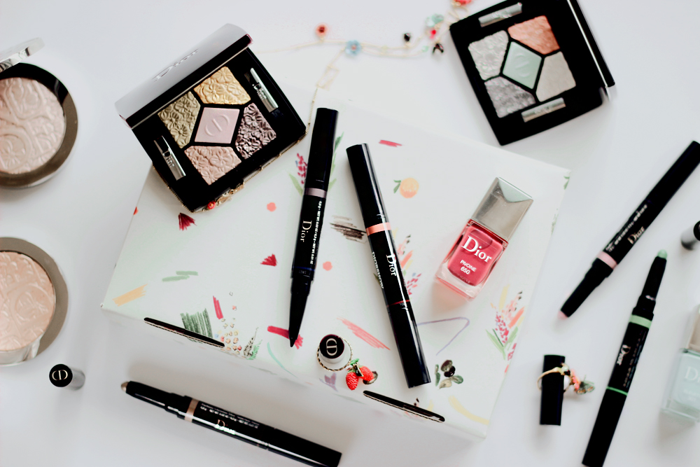 dior glowing gardens spring 2016 collection