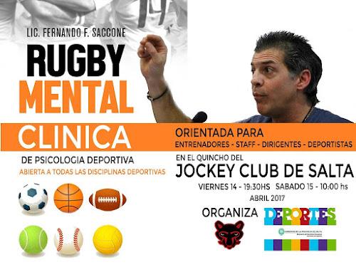 Clínica de Rugby Mental en Salta