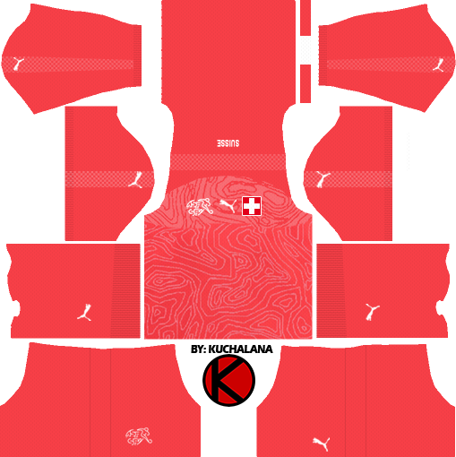 Switzerland 2018 World Cup Kit Dream League Soccer Kits Kuchalana