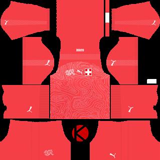Switzerland 2018 World Cup Kit - Dream League Soccer Kits