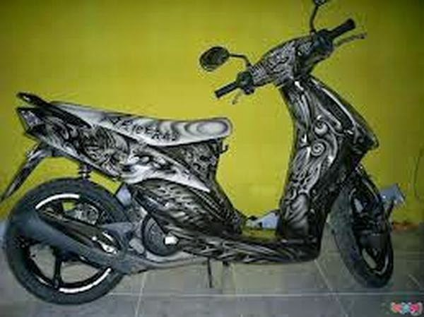 modifikasi mio airbrush