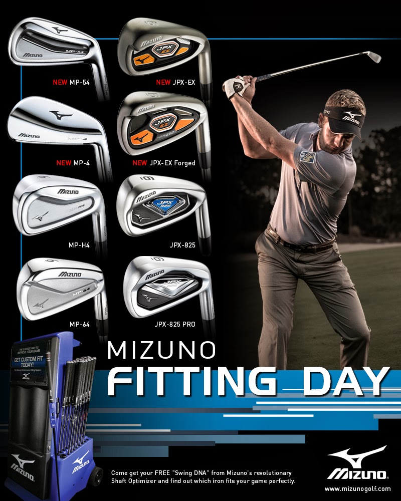 Fairway Golf Online Shop Blog: Mizuno Fitting Day At