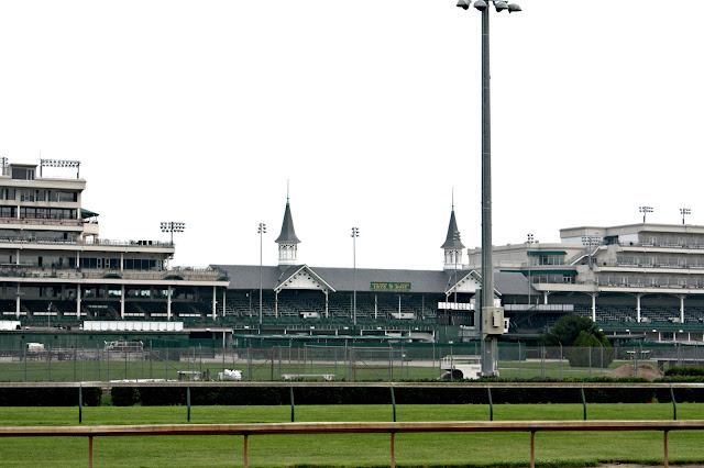 Incredible views of Churchill Downs during our tour