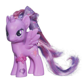 MLP Cutie Mark Magic Ribbon Hair Single Twilight Sparkle Brushable Figure