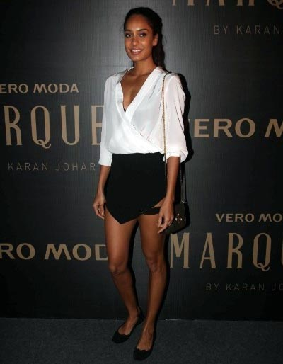 Photograph: Abhijit Mhamunkar, Lisa Haydon, Bollywood Actresses in Skirts - Hot Photo Gallery