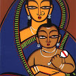 Jamini Roy's 130th birtday Google Doodle