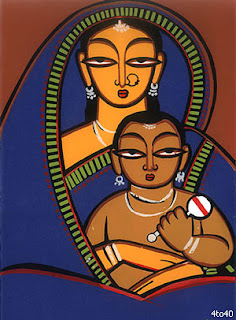 Jamini Roy's 130th birtday