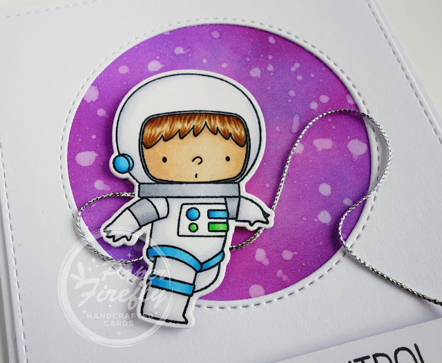 Handcrafted Space Explorer Card (image is Space Explorer by MFT)
