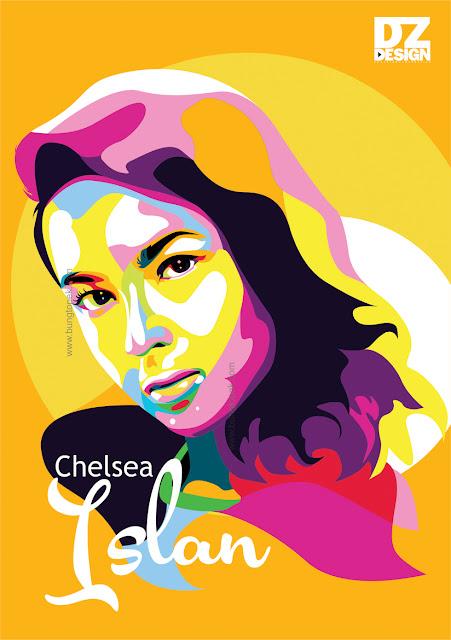 Vector Art Chelsea Islan