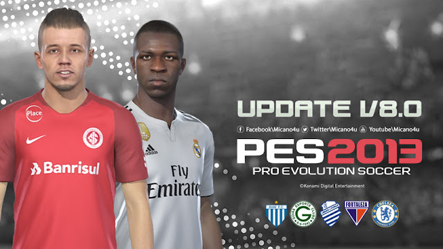 PES 2013 Next Season Patch 2019 Update v8 0 - Released 17 03 2019