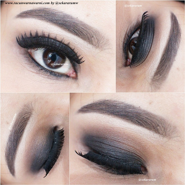 Detil EOTD Black Smokey Eyes