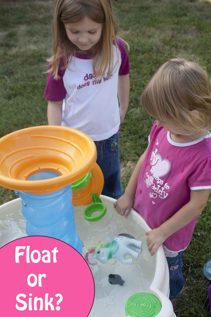 Sink or Float? A Simple, Hands-on Preschool Experiment