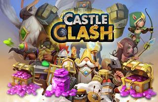 Cara Gampang Mendapatkan 99999 Gems Castle Clash Terbaru