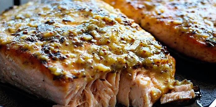 Filete De Pescado Al Horno Con Mostaza Cocina Recetas Fáciles