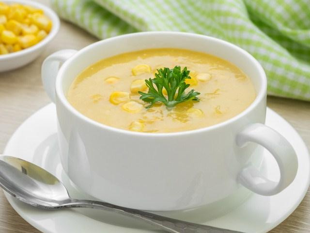 Resep Sup Jagung Manis Sederhana, Cara Membuat Sup Jagung Sederhana