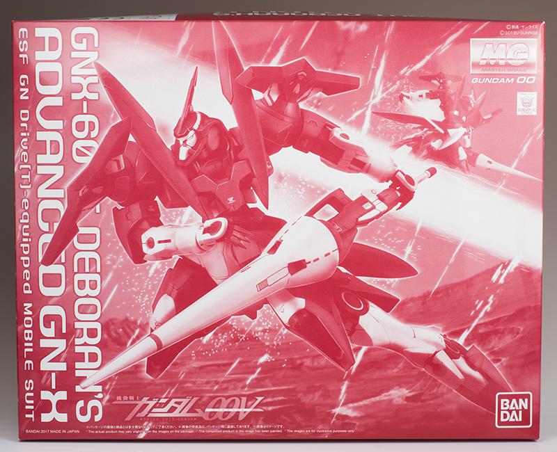 G-リミテッド: Gallery: MG 1/100 Deborah's Advanced GN-X