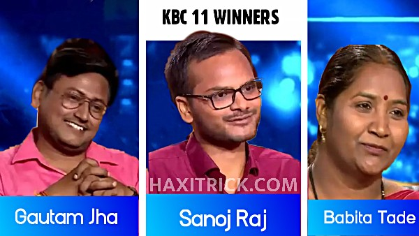 Kaun Banega Crorepati Winner Season 11 List 2019