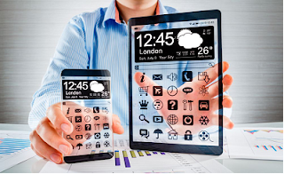 Transparent Mobile phone Abstract latest seminar topics