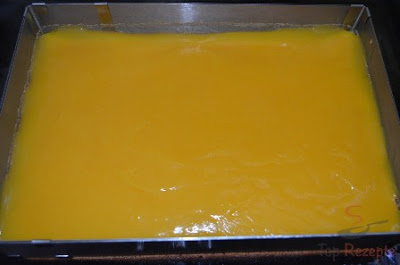 كيك الطبقات بالبرتقال