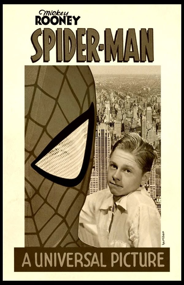 Mickey Rooney Is Spiderman