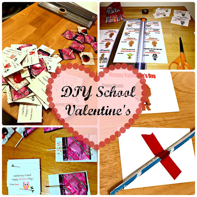Do It Yourself, Easy DIY Valentines, Customizable, Printable