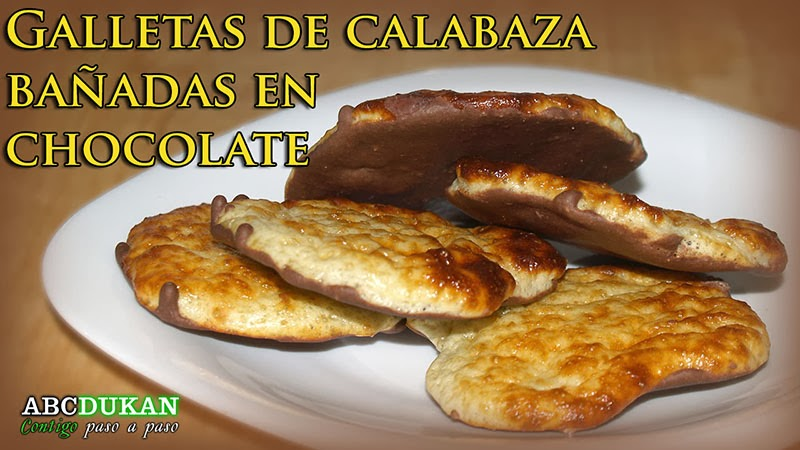 galletas de calabaza y chocolate