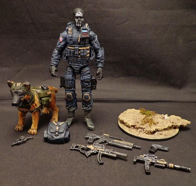 "Stronox Custom Figures: Call Of Duty Ghosts David ""Hesh"