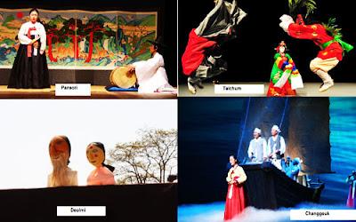 Jenis - Jenis Seni Teater Tradisional Korea Selatan