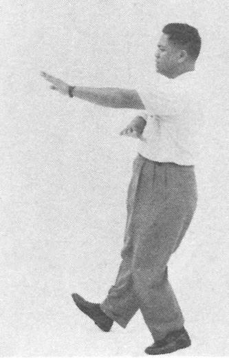 太極拳 (方拳) 102 摟膝抝步