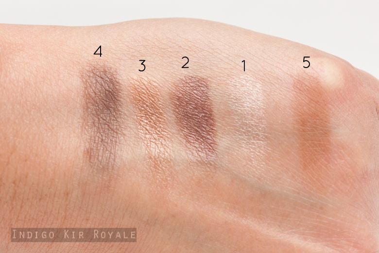 5 Couleurs Eyeshadow Palette - Cuir Cannage by Dior #5
