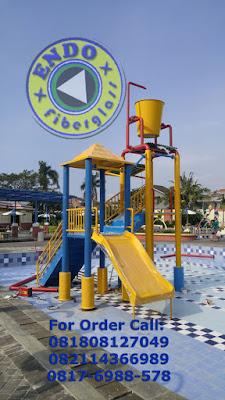 Pembuatan Ember Tumpah Waterpark