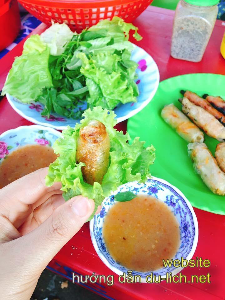 Các món ăn hải sản ngon của Bình Ba