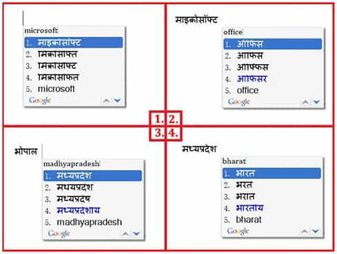 trick for typing with Google Hindi Typing Tool full detail