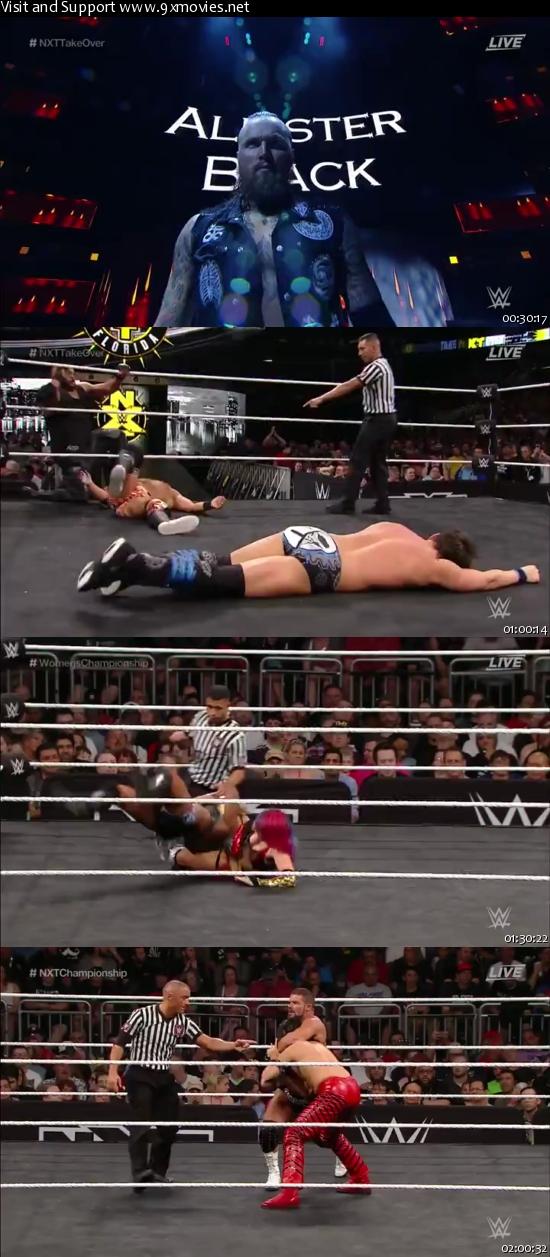 WWE NXT TakeOver Orlando 01 April 2017 WEBRip 480p