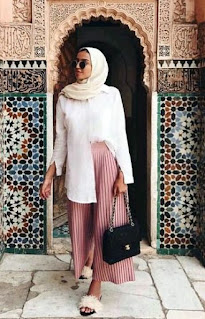 Model Baju Lebaran Simple Cewek