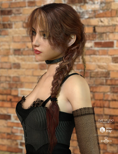Dolly Changable Hair Expansion for Genesis 3 and 8 Female