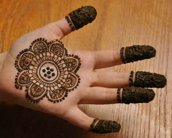 Mehndi Designs For Palm : Simple mehndi designs for beginners bling sparkle