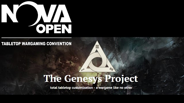 The Genesys Project has tables at the Nova Open