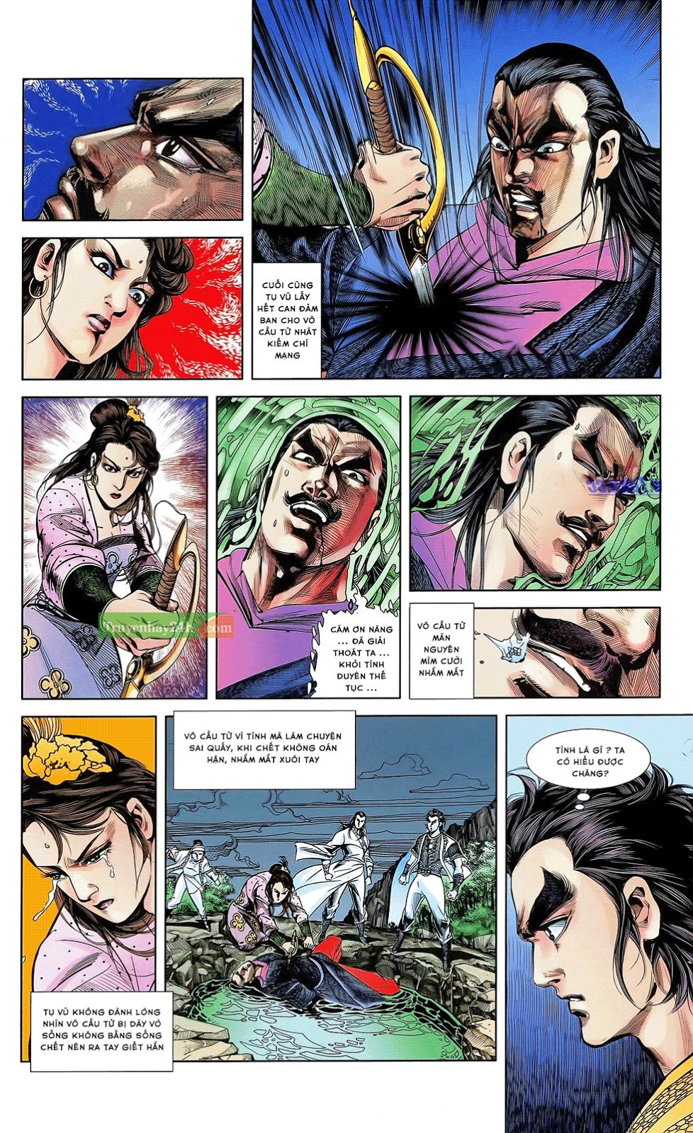 Tần Vương Doanh Chính chapter 21 trang 19