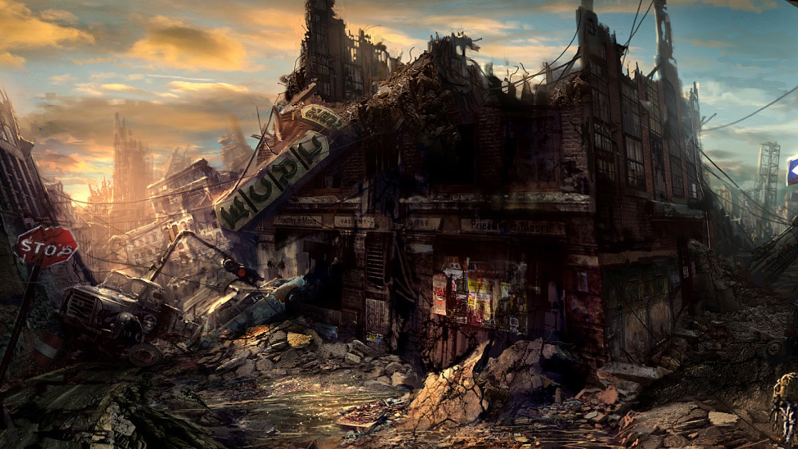 World Wildness Web: Post Apocalyptic Wallpapers