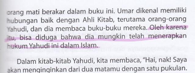 Syiah Menuduh Umar RA Menerapkan Hukum Yahudi dalam Agama Islam