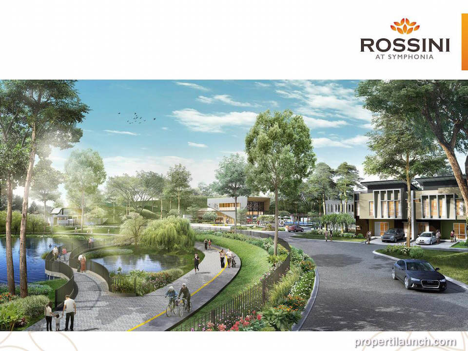 Rumah Cluster Rossini at Symphonia