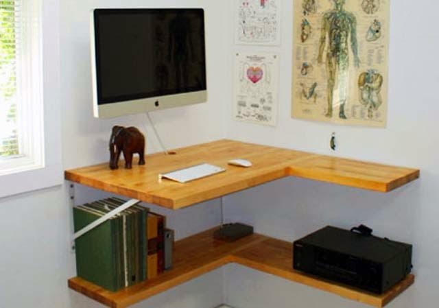 Floating Corner Tv Shelf Plans Ayanahouse